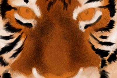 Рисуем тигра в фотошопе