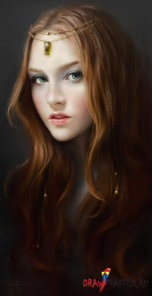 Портреты от Мелани Делон