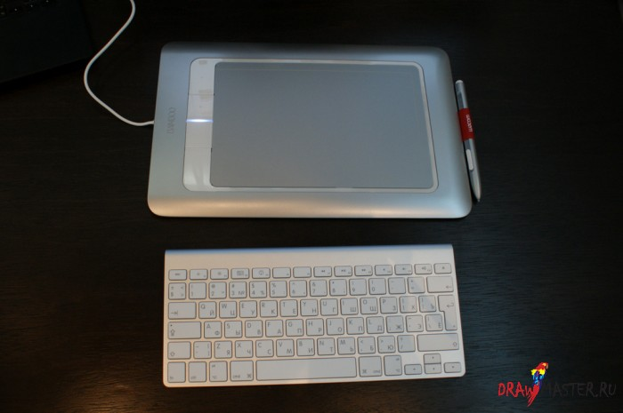 Обзор планшета Wacom Bamboo Fun M Pen&Touch