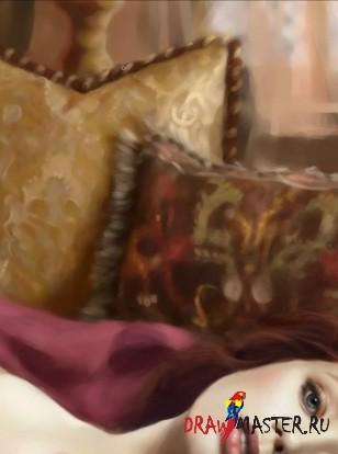 Рисуем историческую личность - Юдифь (Judith)