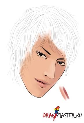 Рисуем лицо за 1 минуту!