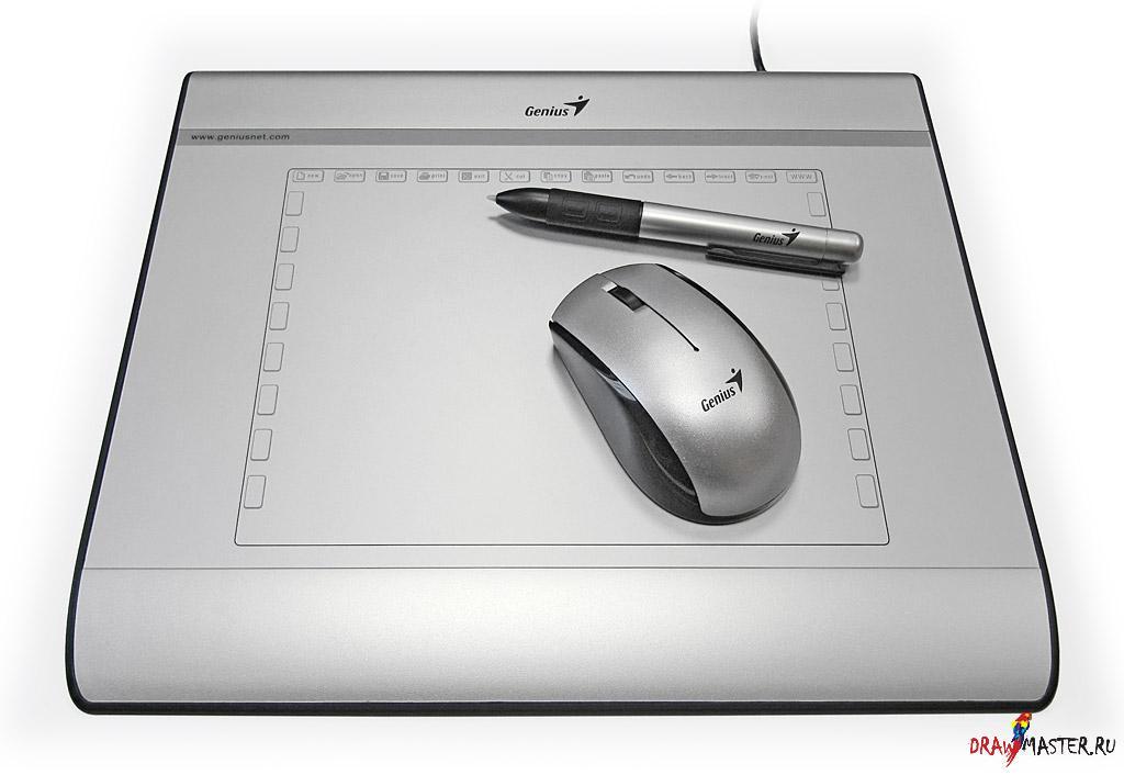 Обзор графического планшета